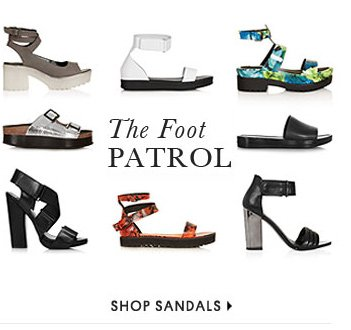 THE FOOT PATROL - Shop Sandals