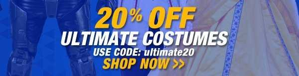 20% Off Ultimate Costumes - Shop Now