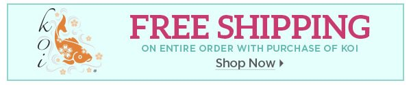 Free Shipping with Koi - Shop Now