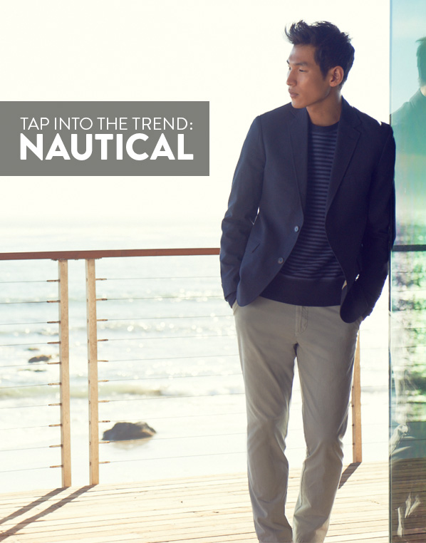 TAP INTO THE TREND: NAUTICAL