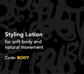 Styling Lotion for soft body and natural movement Code: BODY