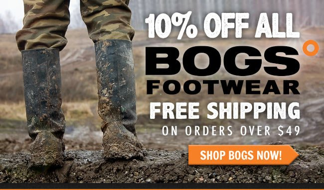 Get 10% Off All BOGS Boots + FREE Shipping This Week!