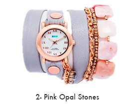 Pink Opal Stones