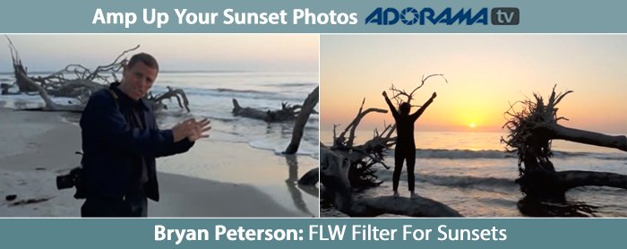 Adorama - FLW Filter for Sunset Photography
