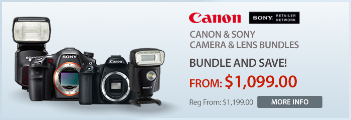 Adorama - Canon and Sony - Camera and Lens Bundles