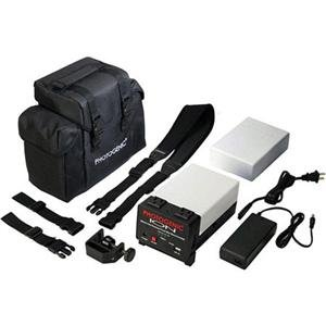 Adorama - Photogenic ISB2183 ION Lithium-ion Pure Sine Wave Inverter System with Spare Battery and Case