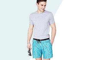 What to Pack: Mr. Swim Board Shorts