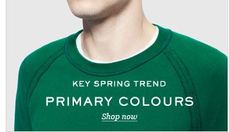 Key Spring Trend: Primary Colours. Shop now