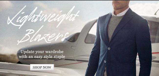 Lightweight Blazers: Update your wardrobe with an easy style staple. Shop now