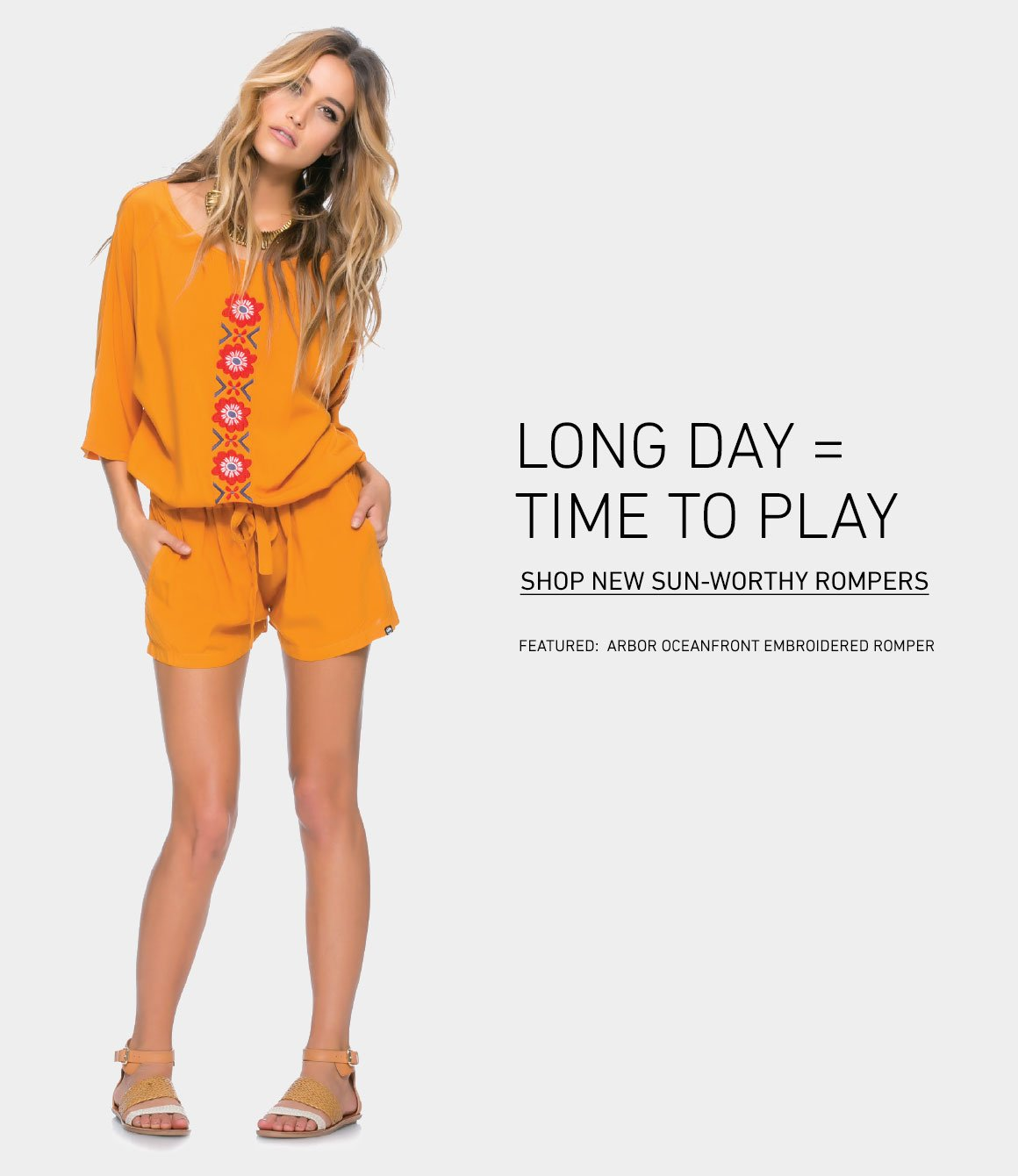 Long Day = Time To Play: New Rompers