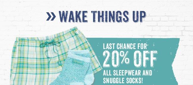 Shop Life is good Sleepwear and get 20% off