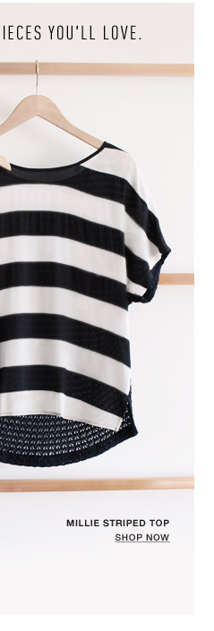 Millie Striped Top