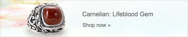 Carnelian: Lifeblood Gem