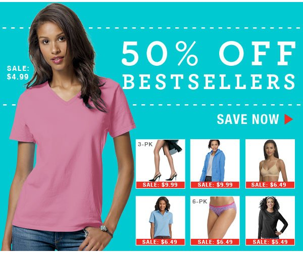 Shop 50% off Bestsellers