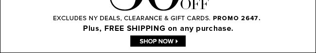 30% Off Sitewide + FREE Shipping!