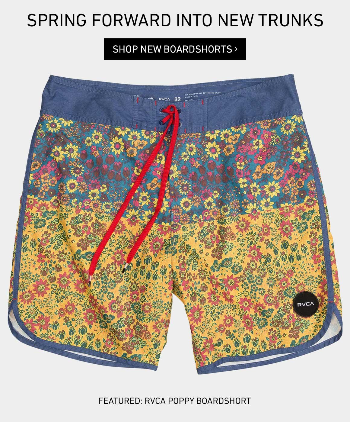 Spring Forward Into New Boardshorts