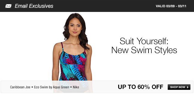 Suit Yourself: New Swim Styles