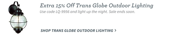 Transglobe Outdoor Lighting