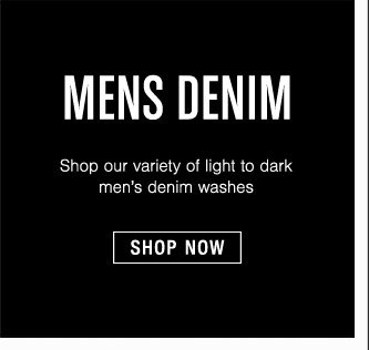 Mens Denim - Shop Now