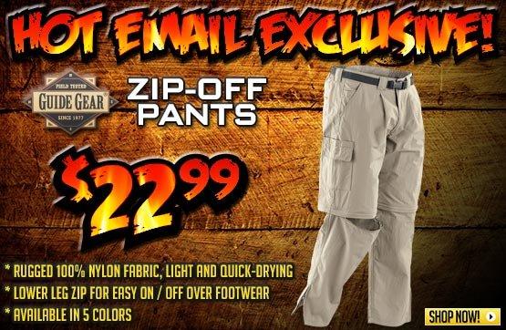 Guide Gear® Zip-off Pants