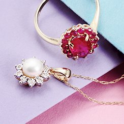 Gold Jewelry Deals: Rings & Necklaces