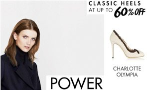 CLASSIC HEELS - UP TO 60% OFF