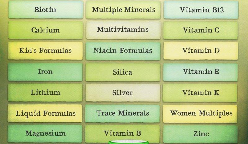 Vitamins & Minerals Sale