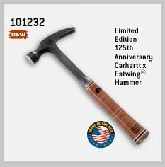 LIMITED EDITION 125TH ANNIVERSARY CARHARTT X ESTWING® HAMMER