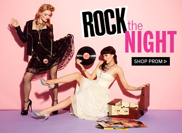 Rock the Night! Shop Prom