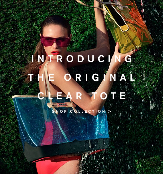 Introducing The Original Clear Tote