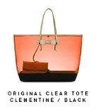 Clear Original Tote Clementine