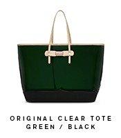Clear Original Tote Green