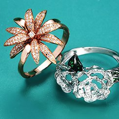 Spring is Here: Botanical Jewelry