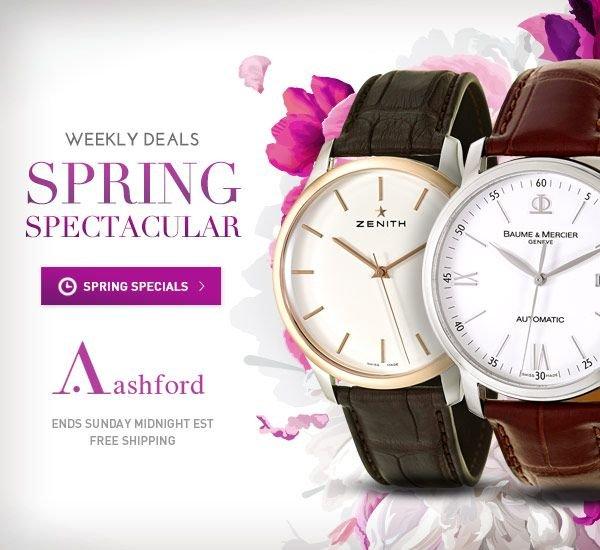 New Weekly Deals at Ashford.com!
