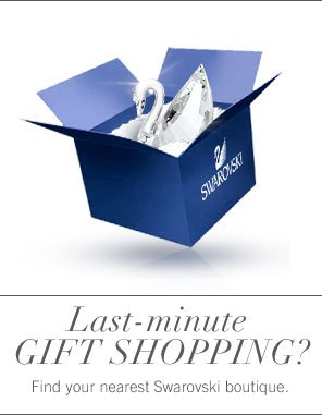 Last-minute gift shopping?
