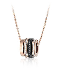 Video Pendant, rose gold-plated