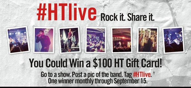 #HTLIVE ROCK IT.SHARE IT.