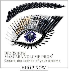 DiorShow Mascara Volume Pros*. Shop Now