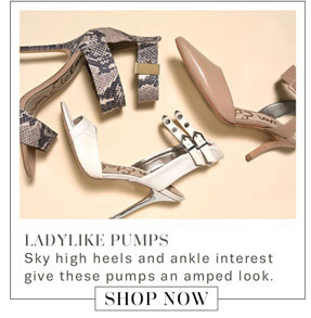 Ladylike Pumps. Shop Now