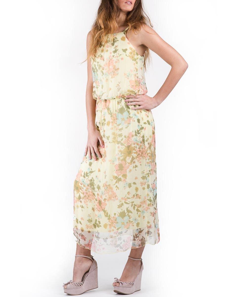 Keysha 100% Silk Floral Dress