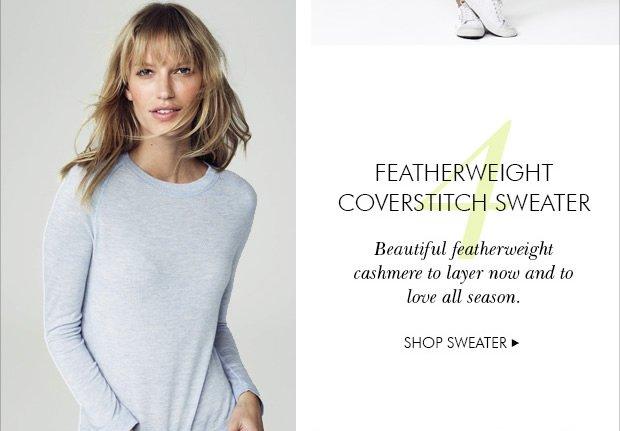 Featherweight Coverstitch Sweater
