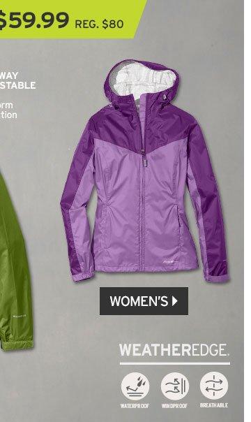 Shop Women's RipPac Rain Jacket