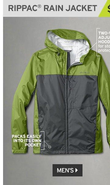 Shop Men's RipPac Rain Jacket