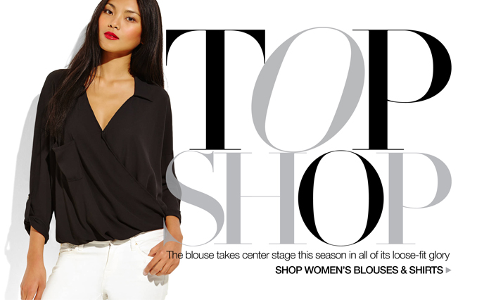 Shop Blouses - Ladies.