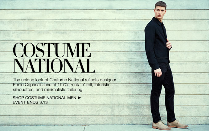 Shop Costume National - Men.