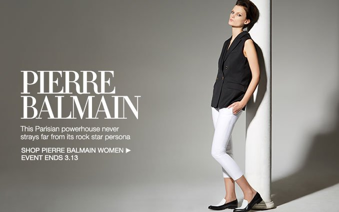 Shop Pierre Balmain - Ladies .
