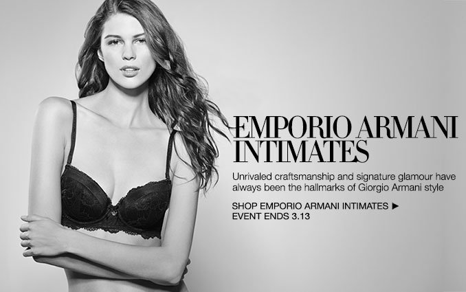 Shop Emporio Armani Intimates - Ladies