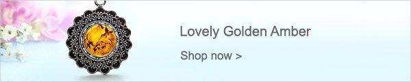 Lovely Golden Amber