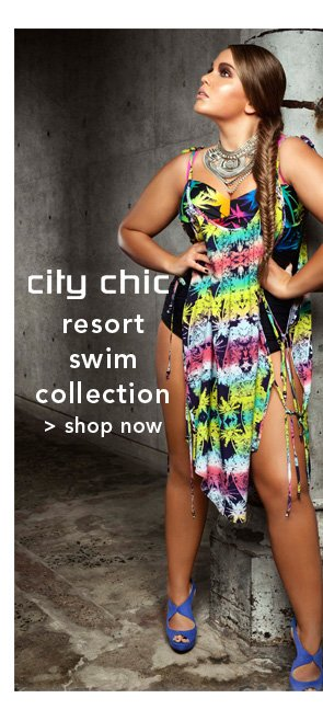 Shop City Chic Resort Swim Collection