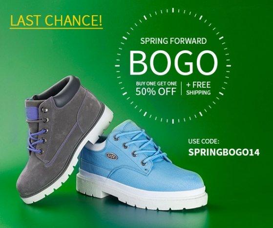 Daylight Savings BOGO 50% Off + Free Shipping